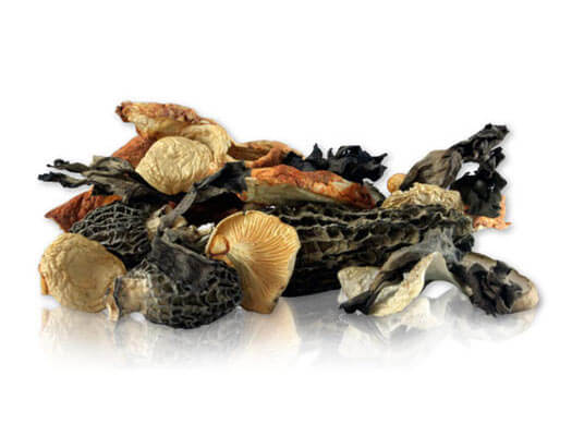 how to prepare dried mushrooms