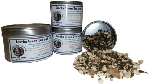 shiitake sencha tea