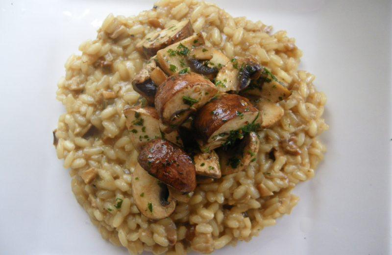 Mushroom risotto recipe | Jamie Oliver risotto recipes